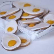 Kruche jajeczka z brzoskwiniami