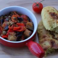 Potrawka z bakłażanów i papryki
