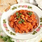 Fasolka orzełek w pomidorach