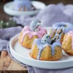 Wielkanocne babeczki do koszyczka z rodzynkami i gałką muszkatułową