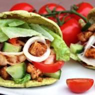 Pita z kurczakiem i warzywami - domowy kebab