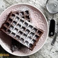 Gofry czekoladowe na maślance