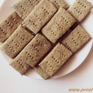 Krakersy z mąką konopną ( bez glutenu )