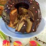 babka z czekoladą w proszku (ucierana)