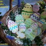 Słodkie jajka wielkanocne