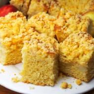 Nocne ciasto drożdżowe - bez wyrabiania, wysokie, duża blaszka