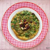 Omlet z zielskiem i bakaliami - KUKU SABZI