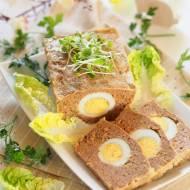 Pieczeń rzymska. Klops z jajkiem