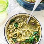 Perska zupa noworoczna z makaronem