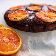 brownie z pomarańczą - bez cukru i tłuszczu! // blood orange fudge brownie - sugar and fat free!
