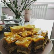 Ciasto kora dębu, kora orzechowa