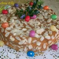 Wielkanocny sernik z kajmakiem
