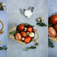 Jajka wielkanocne barwione naturalnie