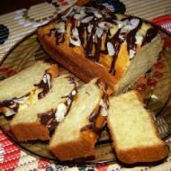łatwe,smaczne migdałowe ciasto na oleju...