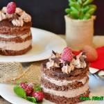 Kerm czekoladowy do przekładania ciast.