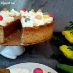Orzechowo - kawowy tort Wielkanocny