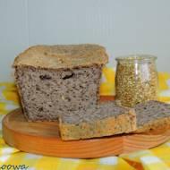 Chleb z kaszy jaglanej z lnem