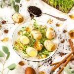 Chińskie marmurkowe jajka gotowane w herbacie