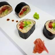 KETO SUSHI (keto, LCHF, optymalne, bez glutenu)
