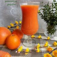 Sok świeżo wyciskany marchew,pomarańcza,grejpfrut