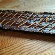 Tarta czekoladowa ze smakiem masła orzechowego
