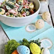 Wielkanocna sałatka