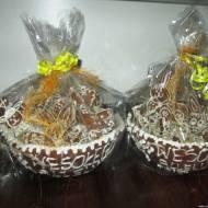 Pierniczki Wielkanoc 2018 (miski piernikowe, pierniczki)