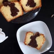 Babka waniliowo-kakaowa z zajączkiem