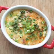 Jaja zapiekane z boczkiem i warzywami