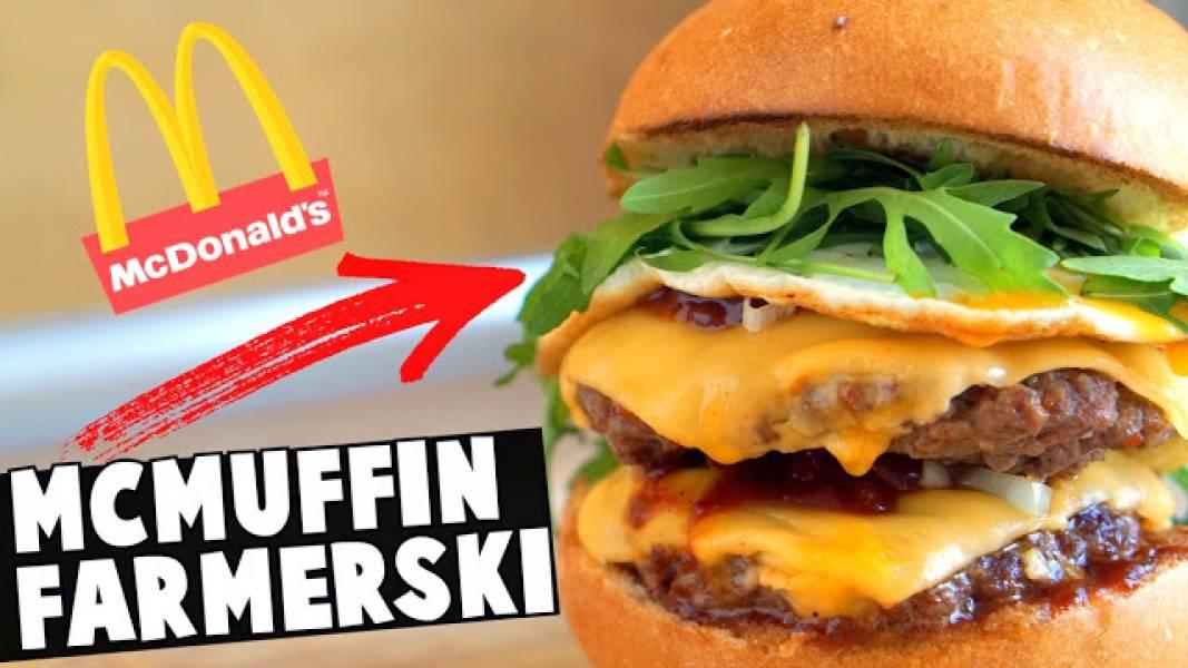 McMuffin Farmerski - Najlepszy Przepis na Domowego Hamburgera