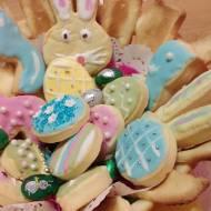 Wielkanocne kruche pisanki
