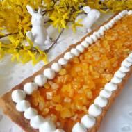 Mazurek pomarańczowy (Crostata con crema all'arancia)