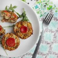 Mini quiche - jajeczne babeczki z warzywami
