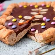 Przepis #130 Wielkanocne inspiracje: Mazurek z kremem czekoladowym
