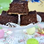 Jaglany sernik czekoladowy