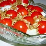 Sałatka brokułowa w sosie czosnkowym