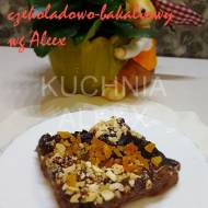 Mazurek czekoladowo-bakaliowy wg Aleex
