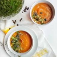 Zupa krem z batatów i marchewki