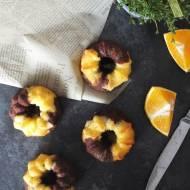 Babeczki pomarańczowo - czekoladowe