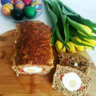 Pasztet - pieczeń z mięsa mielonego z jajkiem