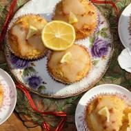 Muffinki kukurydziano-sojowe z lukrem cytrynowym (bez glutenu)