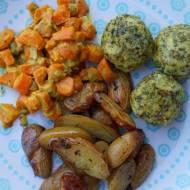 3 składnikowe klopsiki jaglane