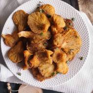 Boczniaki w panierce / Crumbed oyster mushrooms