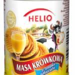 Bananowy deser z masą krówkową o smaku advocata Helio