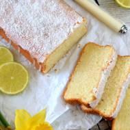 Ciasto kokosowo - limonkowe