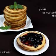 Pancakes?... Inna wersja. Pyszne placki na weekendowe śniadanie