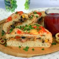 zapiekanka - piętrowa pizza