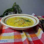 Zupa ogórkowa z kaszą gryczaną