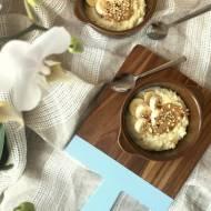 Jaglanka orzechowa z nutą cytrynową na mleku sojowym
