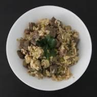 """""""Brudny"""" ryż z Nowego Orleanu, czyli nowoorleański Dirty Rice z wątróbką"""